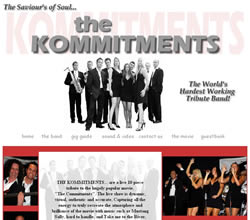 The Kommitments website