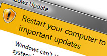 Restart your computer to prevent problems