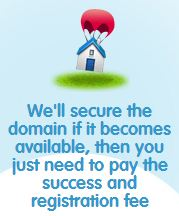 Secure a doman if it becomes available