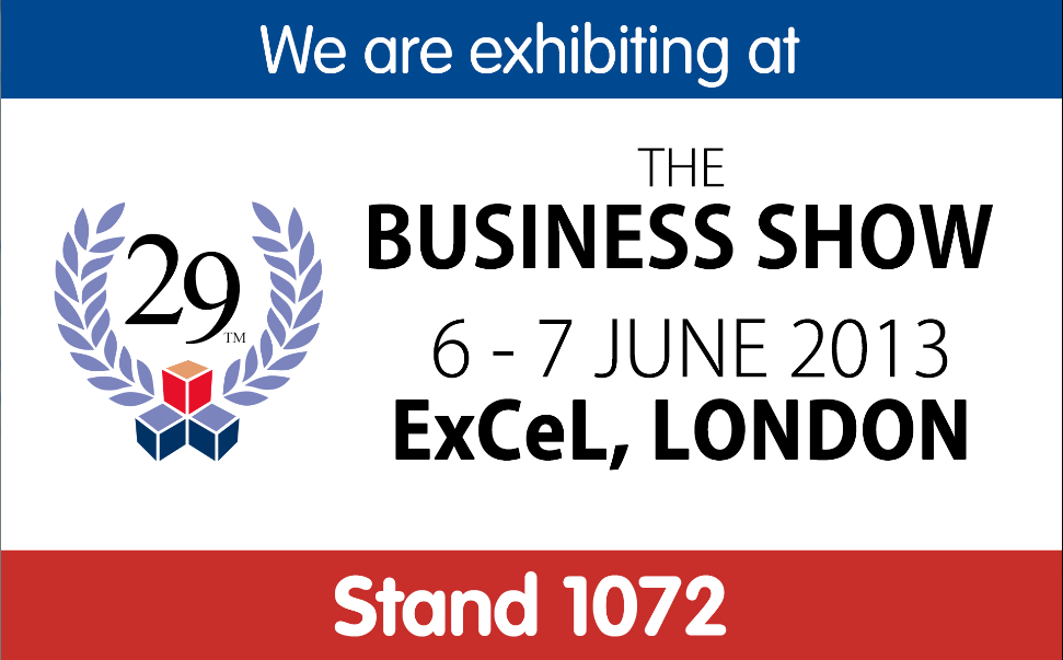 Stand 1072 - The Business Show - 123-reg.co.uk