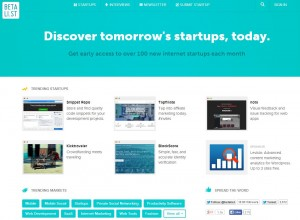 Betali.st - start-ups yet to start-up