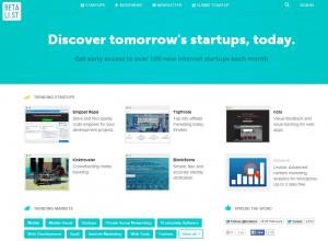 Betali.st - start-ups yet to start-up