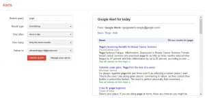 Using Google Alerts for your social media