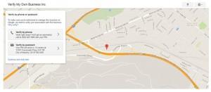 Verify your Google Places listing
