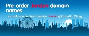 Pre-order .london domain