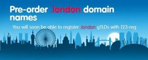 Pre-order .london domain
