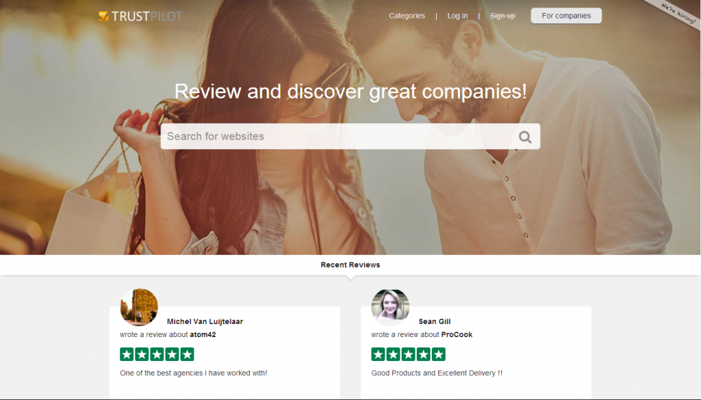 Review sites let you read about other people's experiences of a potential contractor