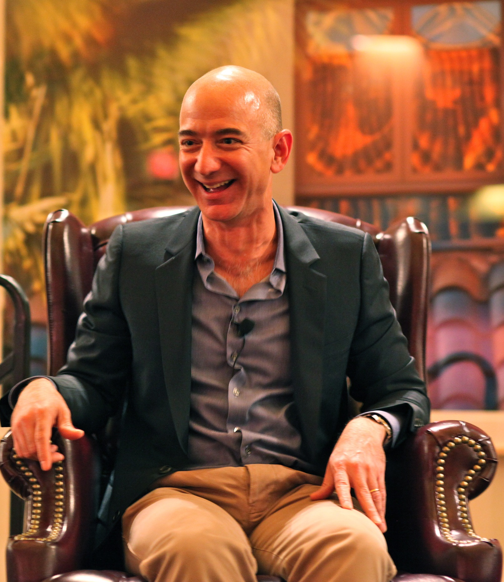 Jeff Bezos of Amazon (Photo by Jurvetson)