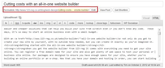 Check URL