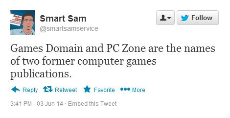 Smart Sam Domain names
