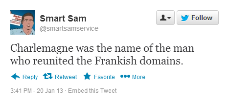 Smart sam Wrong Domains