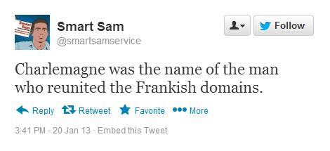 Smart sam Wrong Domains