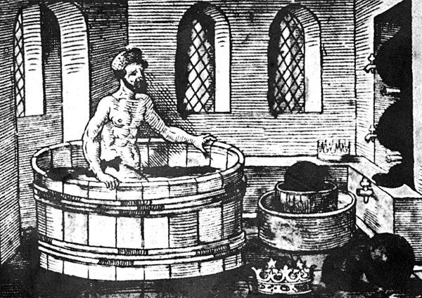 Archimedes bath eureka