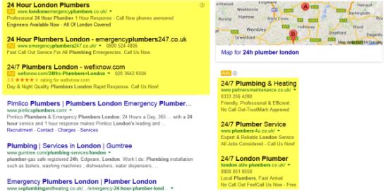 plumbers example