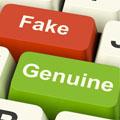 Fake vs genuine