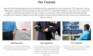 VNY Security Courses
