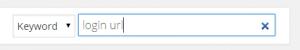 WordPress plugin search