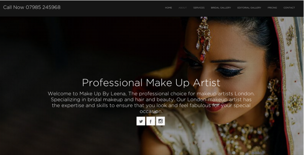 makeup artist image