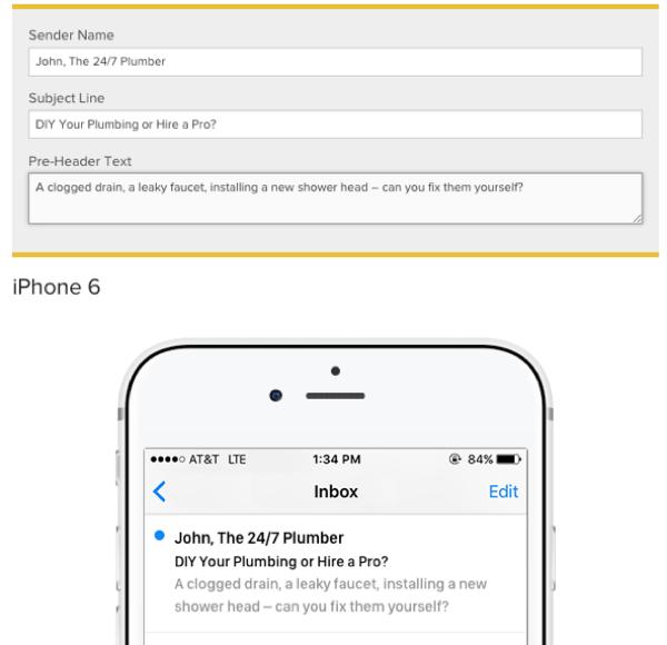 testsubject email marketing