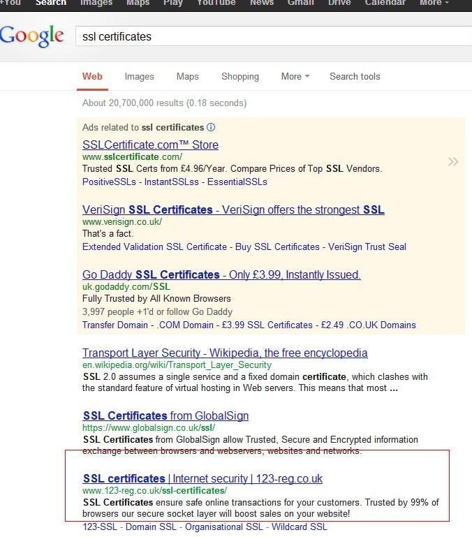Ssl Certificates 123 Reg Blog