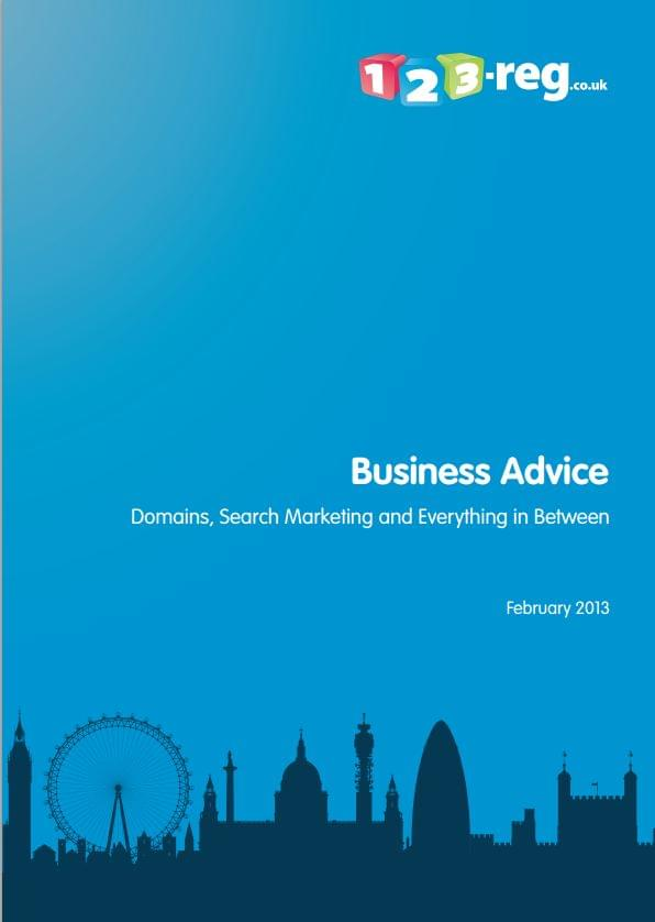 Business Advice White Paper from 123-reg