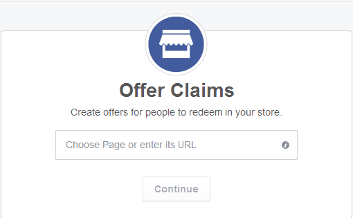 Facebook offer claims example