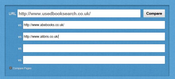 Open Site Explorer add competitors