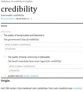 Social credibility: What is it and why you need it