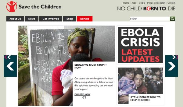 Save the children organisation