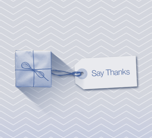 It's all about the social – Say Thanks
