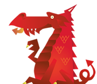 123-reg welsh dragon