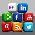 social media icons feat