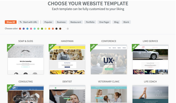 Website Builder Templates | How To Choose The Right Template For Your Website 123 Reg Blog
