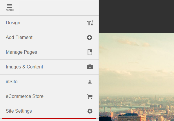 menu-site-settings