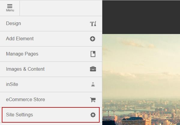 menu-site-settings