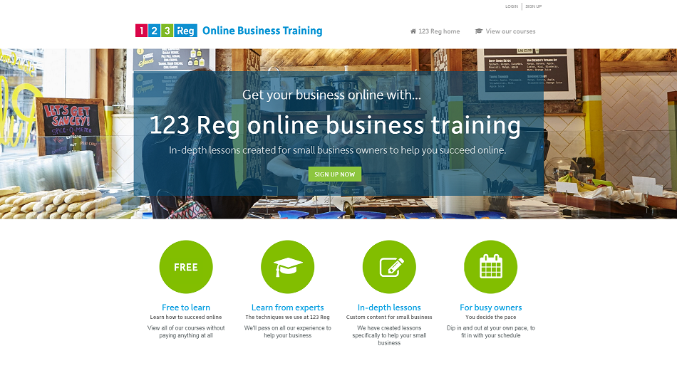 online business training from 123 Reg