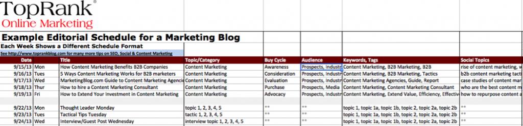How to create an editorial calendar for your blog | 123 Reg Blog