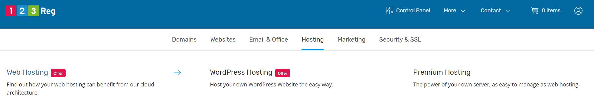 Select Web Hosting