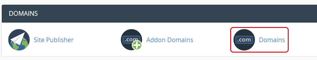 Choose Domains
