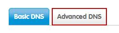Select Advanced DNS