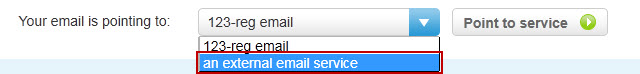 Choose Email service