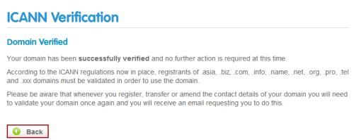 Verification Confirmed
