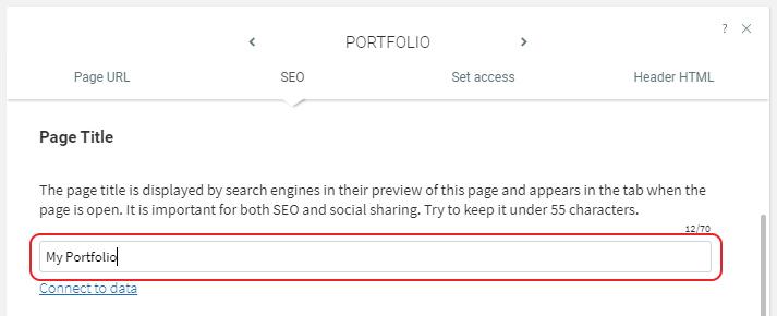Enter Page Title