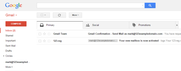 ready to start using gmail