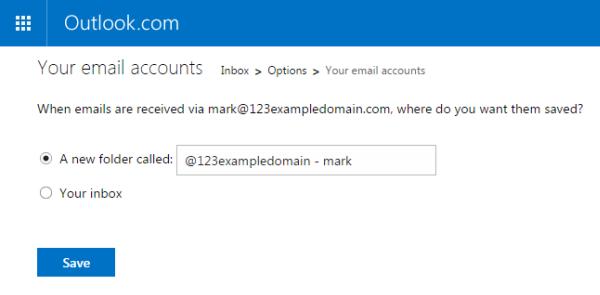 inbox or folder
