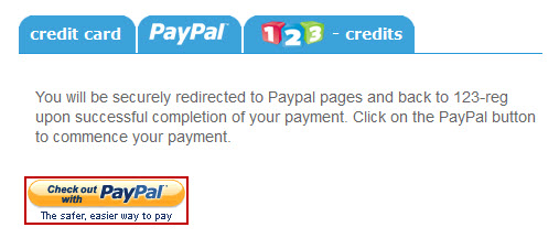 How to add paypal | 123 Reg Support