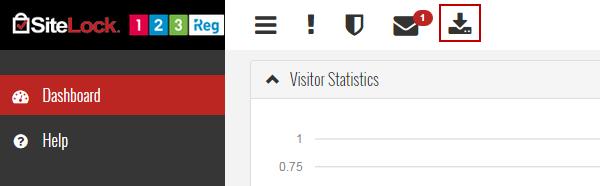 SiteLock report icon