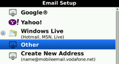 Add OTHER email