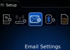 Add Email Menu
