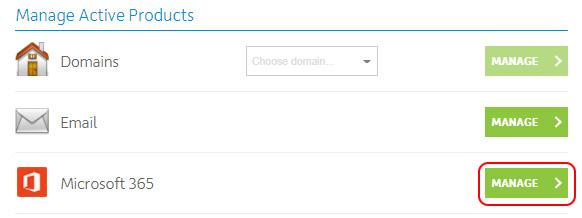 Manage Microsoft 365